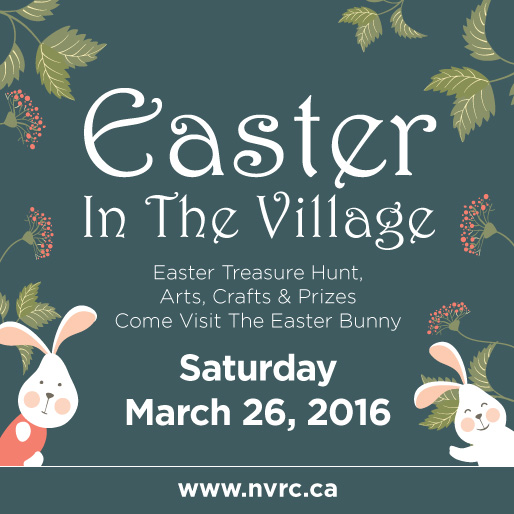 Easter Event Saturday March 26th, 1- 3pm Lynn Valley Village Plaza
